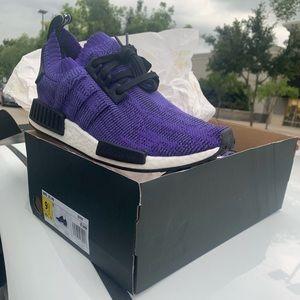 Addidas NMD R1 PK purple/black/white sz 9.5